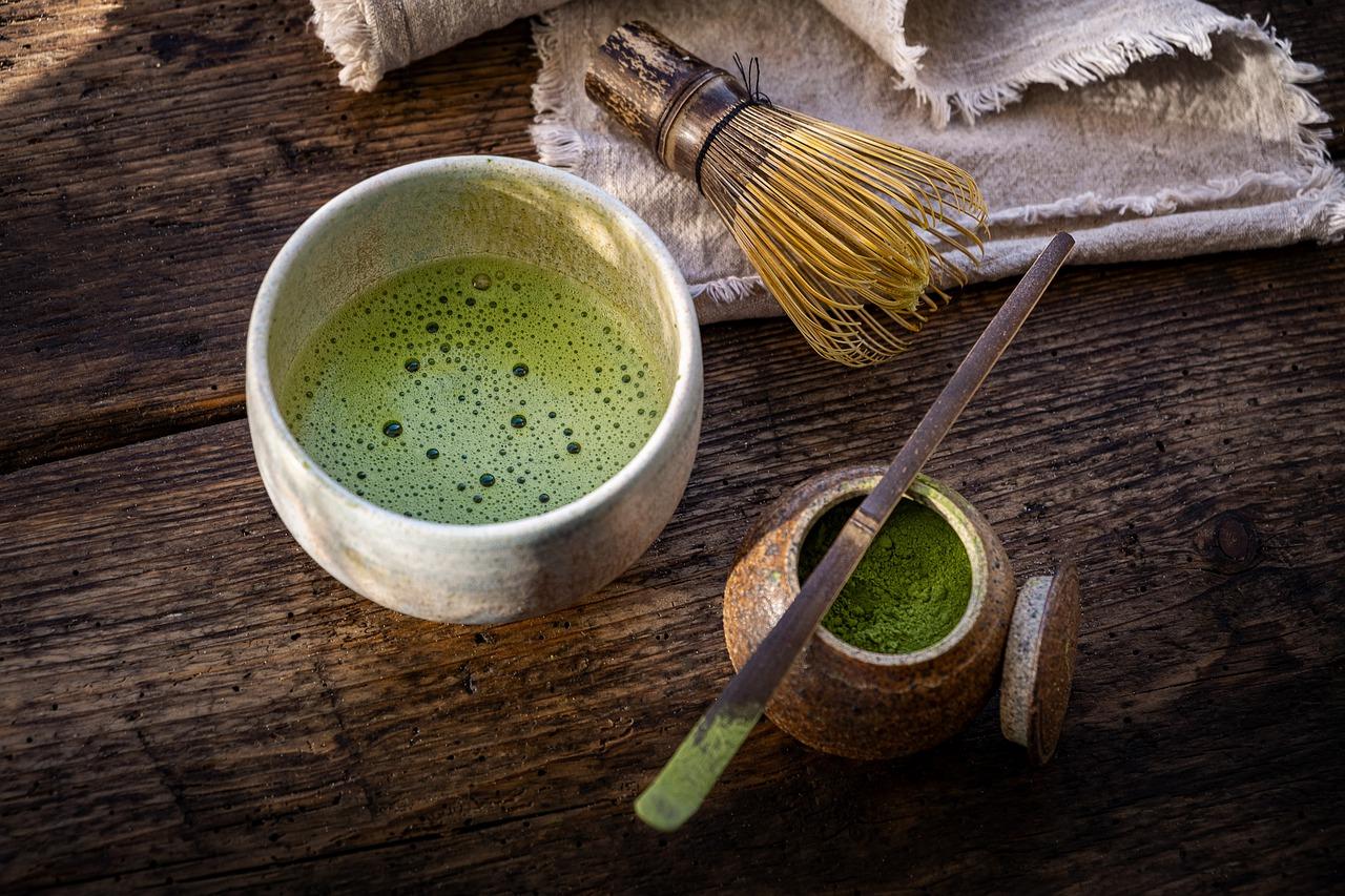 Matcha Tea Drink Beverage Teacup  - mirkostoedter / Pixabay